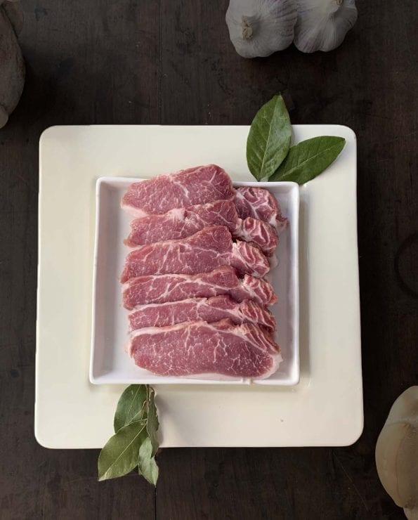 Lomo de cerdo ibérico, lomo fresco ibérico, filetes de cerdo ibérico, cerdo ibérico, lomo fresco de cerdo ibérico