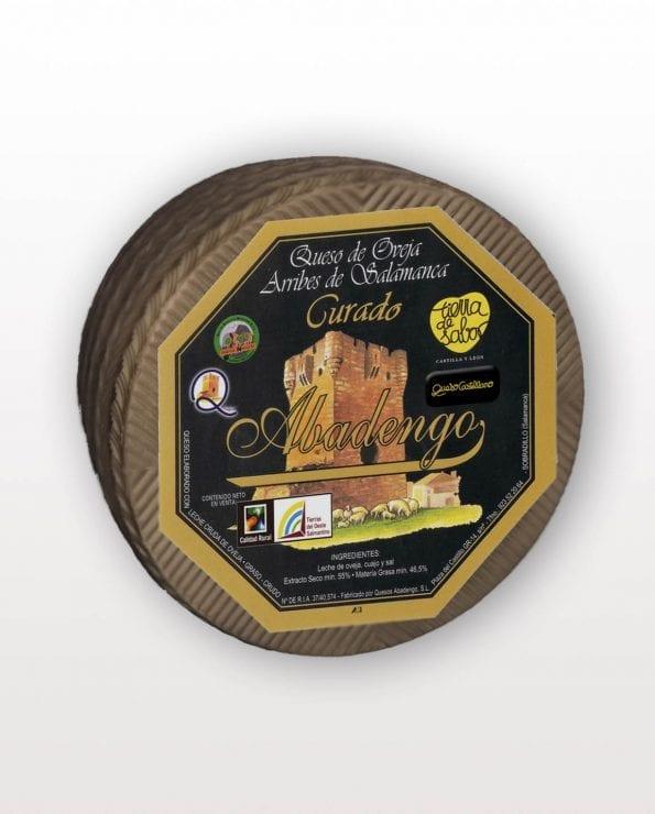 queso abadengo curado-leche cruda de oveja-queso abadengo-abadengo curado-quesos abadengo