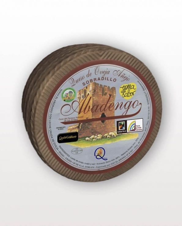 queso abadengo añejo-leche cruda de oveja-queso abadengo-abadengo añejo-quesos abadengo