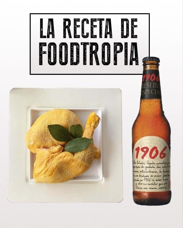 muslos de pollo cerveza receta de foodtropia