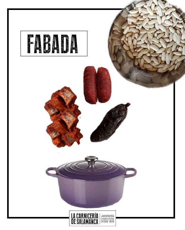 INGREDIENTES PARA FABADA