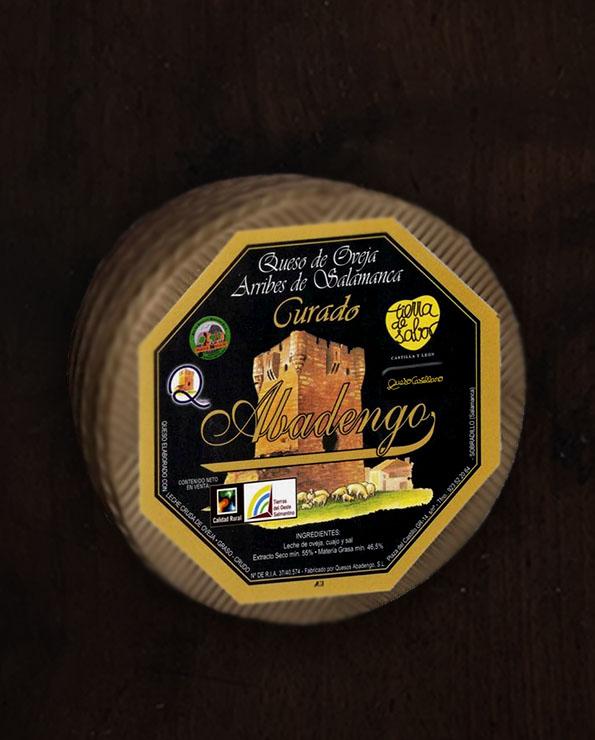 Comprar queso curado Abadengo, comprar queso arribes de Salamanca