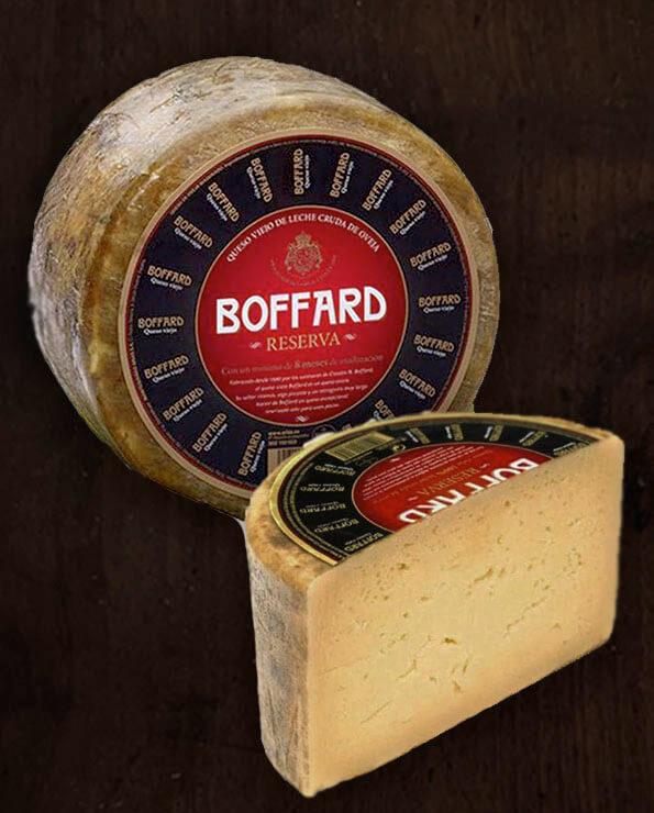 Queso de oveja curado Boffard reserva