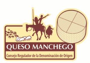Etiqueta denominación de origen del queso manchego